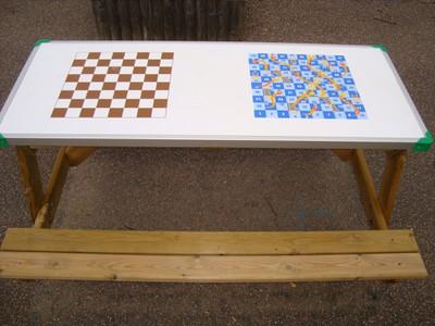Board Games Bench