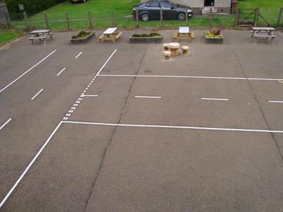Playground Road Markings