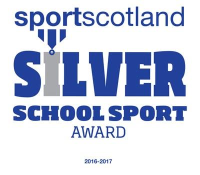 Silver sportscotland School Sport Award